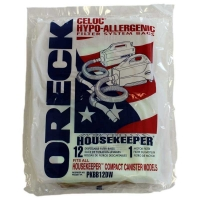 Oreck Vacuum Cleaner Buster B Celoc Hypo-allergenic Bag PKBB12DW