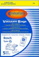 Bosch Microlined Type G Vacuum Cleaner Bags